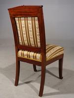 Good Mid 19th Century French Mahogany Framed Single Chair (4 of 4)