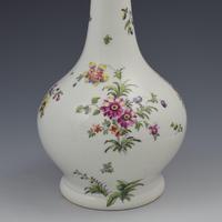 Derby Porcelain Cotton Stem Painter Water Bottle Guglet c.1760 (6 of 10)