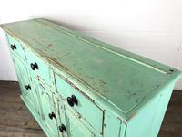 Victorian Antique Pine Painted Dresser Base Sideboard (10 of 14)