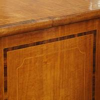 Regency Inlaid Bow Fronted Chest (2 of 10)