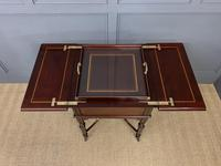 """Inlaid Mahogany """"Surprise"""" Drinks Table (15 of 15)"""
