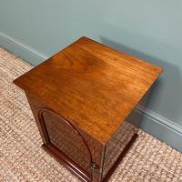 Small Victorian Mahogany Collectors Cabinet (4 of 6)