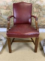 Pair of Victorian Mahogany Framed Armchairs (4 of 8)
