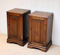 Pair of Oak Bedside Cabinets (2 of 12)