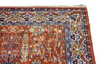 """Vintage / Retro Wool Rug Roughly 6'8"""" x 4'2"""" Eastern (5 of 7)"""