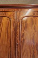 Antique Victorian Mahogany Triple Door Wardrobe (12 of 21)