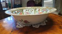 Huge Chinese Canton Famille Rose Bowl. 19th Century (4 of 7)