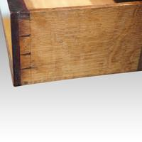 George III Cross Banded Mahogany Chest (4 of 7)