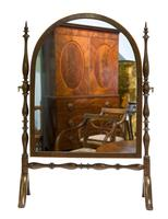 Edwardian Arch Top Dressing Table Mirror (2 of 5)