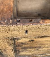 Antique Pine Panelled Box Settle (12 of 16)