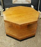 Superb Art Deco Walnut Centre Table (4 of 4)