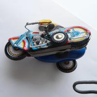 Chinese Tinplate Motorbike & Sidecar (8 of 11)