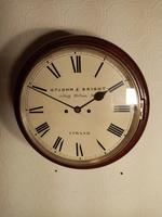 London, Twin-Fusee, Bell Striking Wall Clock (5 of 5)
