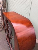 Art Deco Walnut Display Cabinet (10 of 13)