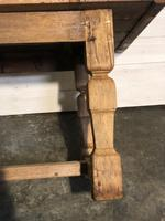 Rustic French Oak Farmhouse Dining Table (10 of 26)