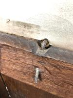 Antique 18th Century Oak Coffer with Panel Front (6 of 14)
