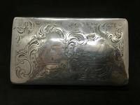 19th Century Silver Tobacco Case with Engraving (4 of 11)