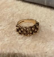 9ct. Rose Gold Keepers Ring 1975 (5 of 5)
