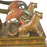 Early 20th Century Indian Hand-painted Chair (4 of 5)