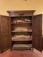 French Wedding Wardrobe from Normandy 18th Century in Oak (10 of 11)