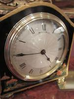 Small Antique Chinoiserie Mantel Clock (3 of 8)