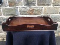Antique George III Mahogany Butlers Tray (5 of 7)