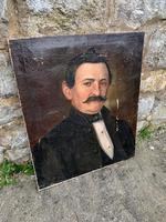 19th C French Portrait On Canvas (2 of 5)