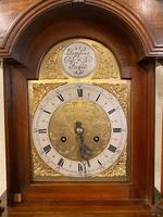 Carved Walnut Grandmother Longcase Clock (7 of 7)