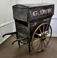 19th Century Hovis, Grocery and Post Office Delivery Hand Cart