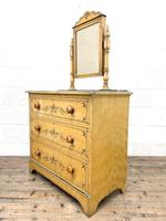 Antique Painted Pine Dressing Chest (6 of 13)