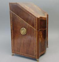 19th Century Inlaid Knife Box (2 of 4)