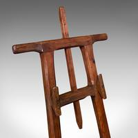 Antique Artist's Easel, English, Picture Stand, Arts & Crafts, Victorian c.1900 (8 of 12)