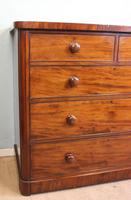 Antique Victorian Mahogany Chest of Drawers (4 of 14)