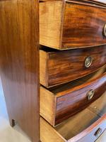 George III Bow Chest of Drawers (11 of 14)