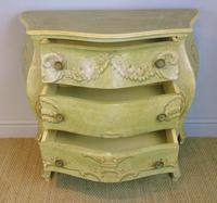 Vintage Italian Painted Bombe Commodes Harrods (8 of 10)
