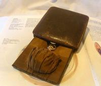 Vintage Pocket Watch Case 1940s Original Bedside Mantelpiece or Storage Case (5 of 12)