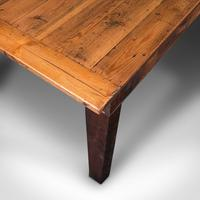 Large, 8 Seat Antique Dining Table, English, Pine, Country Kitchen, Victorian (10 of 11)