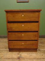 Small Vintage Haberdashery Chest of Drawers, Post Office Chest with Numbers (9 of 18)