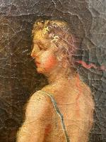 Genre Art 18th Century Oil Painting Classical Figures Musical Recital & Satyrs (14 of 26)