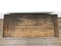 Early 20th Century Panelled Oak Coffer (2 of 8)