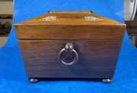 William IV Rosewood Jewellery Box with Inlays (10 of 12)