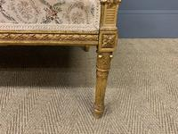 19th Century French Giltwood Settee (5 of 15)