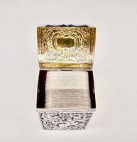 Victorian Silver Patience Card Box by Nathan & Hayes, Chester 1900 (3 of 11)