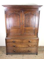 Early 19th Century Welsh Oak Press Cupboard (3 of 15)