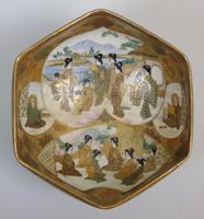 Antique Meiji Satsuma Bowl on Stand Signed (9 of 10)