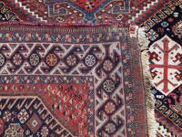 Antique Qashqai Rug 1.47m x 1.04m (7 of 17)