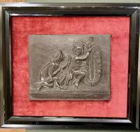 Interesting Set of Twelve Welsh Slate Hand-Carved Plaques (11 of 17)