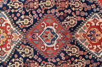 Antique Qasgai Tribal Rug 158x115cm (3 of 5)