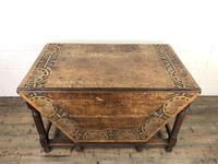 Early 20th Century Oak Gateleg Table (3 of 12)