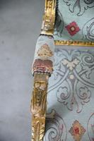Pair of Gold French Louis XVI Style Armchairs (4 of 12)
